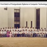 Firs batch of postgraduate diploma in Computer Technology