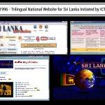 trilingual national website for Sri Lanka