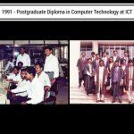 Postgraduate diploma in computer technology