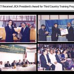 JICA President's award