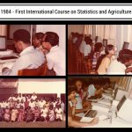 first international course on statics and agriculture