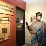 launching of the e-museum by VC