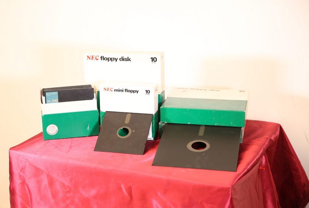 NEC Mini Floppy Disk (1985)