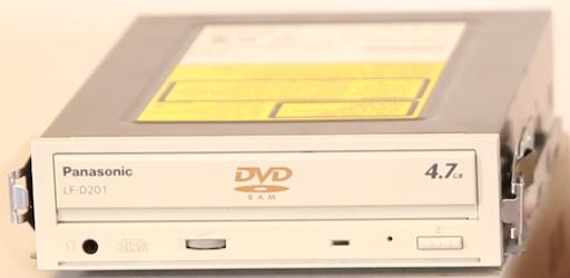 Panasonic LF-D201 DVD Drive (2001)